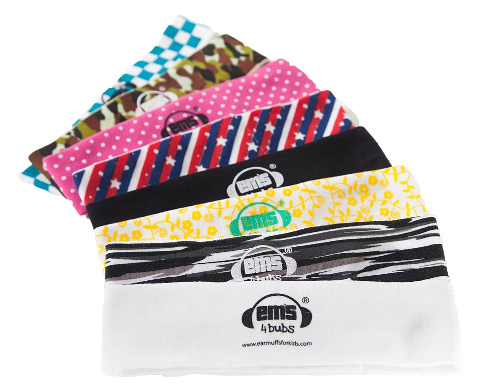 Em's 4 Bubs Baby Earmuff Headbands