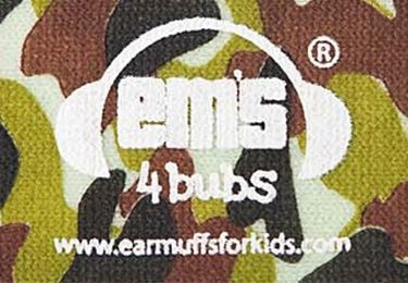 Ems for Bubs Headband - Army Camo