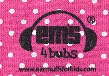 Ems for Bubs Baby Earmuffs - Pink Headband